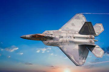 Lockheed Martin F-22 Raptor van Gert Hilbink