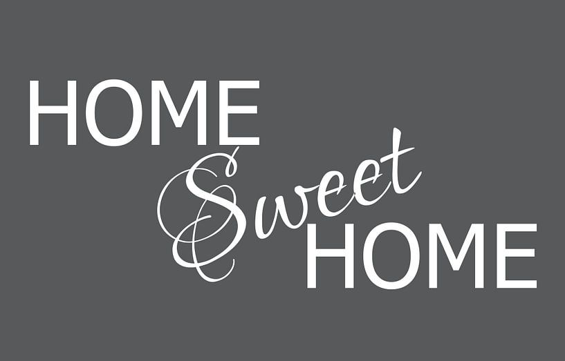 Home Sweet Home Canvas van Pim Michels
