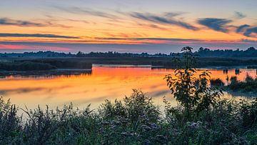 Sonnenuntergang in den Onlanden, Groningen