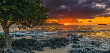 Sonnenuntergang Ahihi Kinau, Maui, Hawaii von Henk Meijer Photography