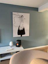 Klantfoto: 'Irrevocable' (gezien bij vtwonen) van Kim Rijntjes, op canvas