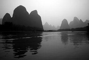 River Li bij Yangshuo  van