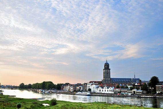 De skyline van Deventer van Arjan Penning