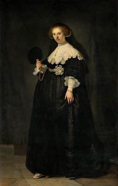 Oopjen Rembrandt van Rijn von Marieke de Koning