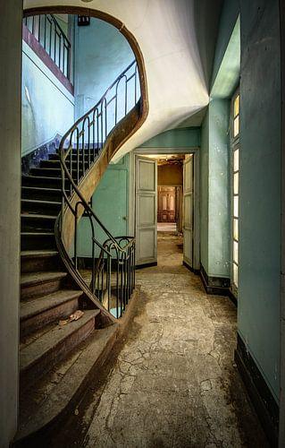 stairs to nowhere van