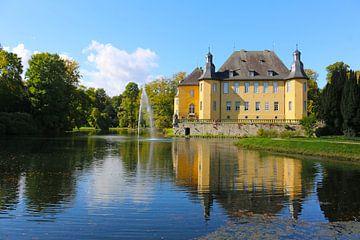 Kasteel Dyk, Jüchen, NRW, Duitsland, Duitsland van Die Farbenfluesterin