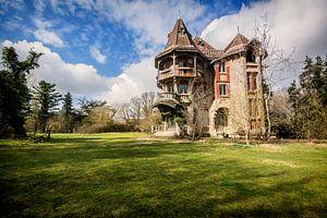 Urban exploration Wat een excentrieke villa van Aurelie Vandermeren