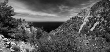Ahata, Karpathos, Griechenland von Peter Baak
