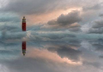 Floating lighthouse von Roelie Steinmann