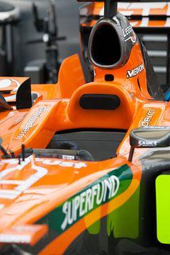 Formule 1 wagen van Nico van Remmerden
