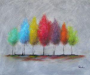 Spring trees van