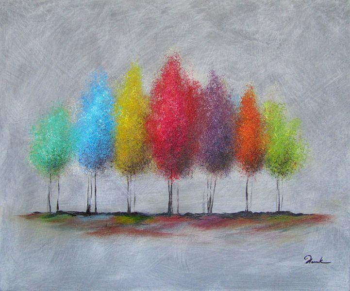 Spring trees van Henrik Moses