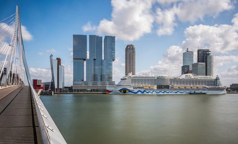 AIDAprima in Rotterdam van MS Fotografie | Marc van der Stelt