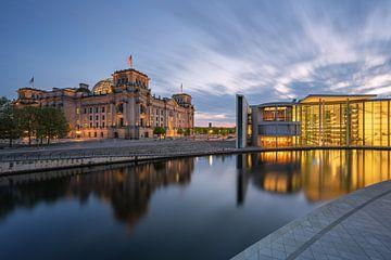 regeringswijk Berlijn van Robin Oelschlegel
