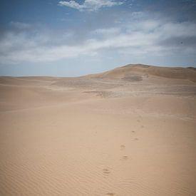 Voetstappen in het zand van Jille Zuidema