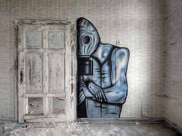 Graffiti van Joke Absen