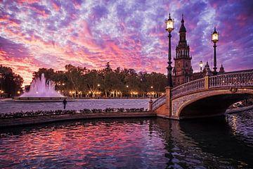 Sevilla - Plaza de Espana von Alexander Voss