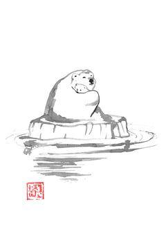 Eisbär von philippe imbert