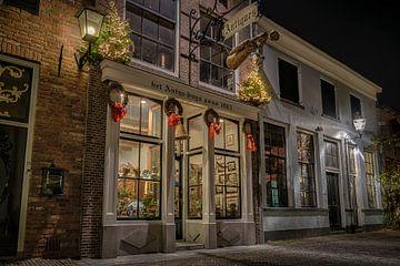 Walstraat Deventer - Dickens style van Sander Korvemaker
