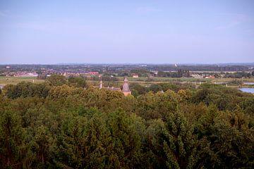 Kasteel Doorwerth (vanaf de Boersberg) van Sébastiaan Stevens