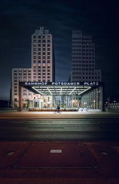 Bahnhof Potsdamer Platz Berlin von Iman Azizi