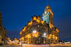 The Balmoral Hotel in Edinburgh, Scotland.