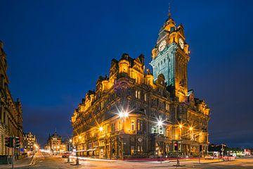 Das Balmoral Hotel in Edinburgh, Schottland. von Henk Meijer Photography