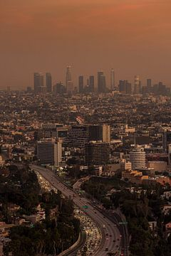 Centre-ville de Los Angeles sur Keesnan Dogger Fotografie