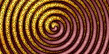 bunte Spirale von Marion Tenbergen