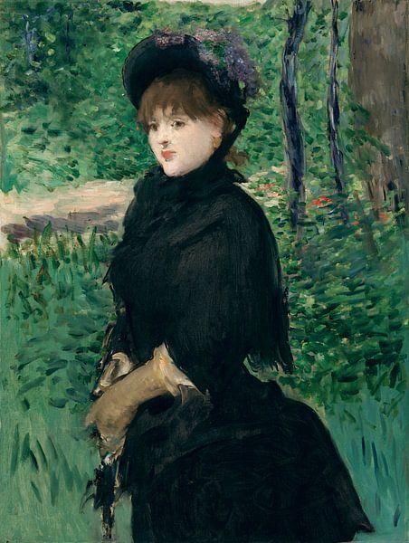 Promenade, Édouard Manet von Meesterlijcke Meesters