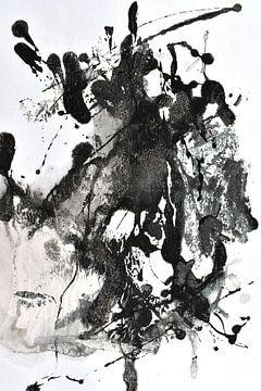 black abstrakt von Christin Lamade