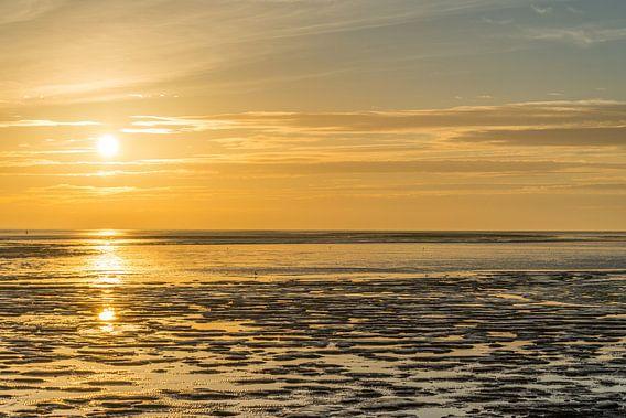 Yellow Sunset  van Harald Harms