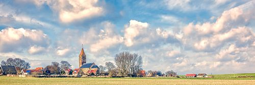 pittoresk dorpje Oosterland op Wieringen van
