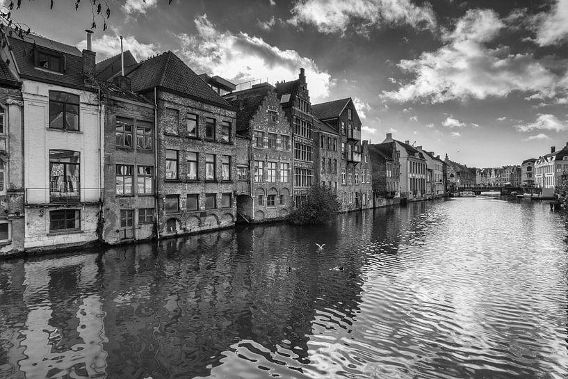 Oude gevelhuizen van Gent van Ilya Korzelius