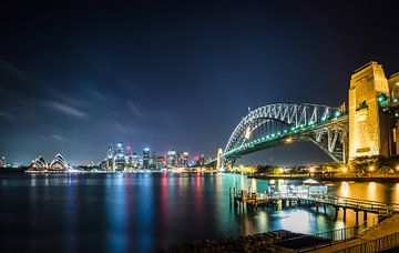 Sydney Skyline von Ricardo Bouman