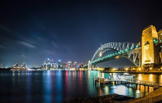 Sydney Skyline van Ricardo Bouman | Fotografie