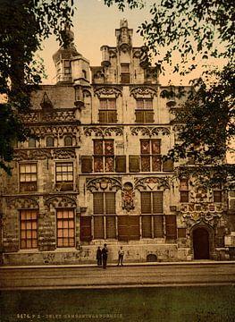 Gemeenlandshuis, Delft von Vintage Afbeeldingen