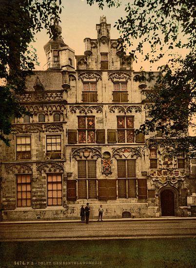 Gemeenlandshuis, Delft van Vintage Afbeeldingen