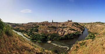 Toledo Panorama von Frank Herrmann