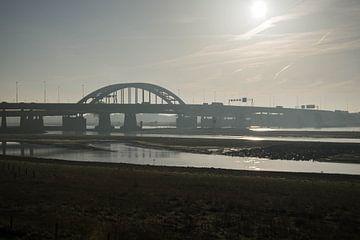 Brug over de Lek bij Nieuwegein van Wil Vlasveld