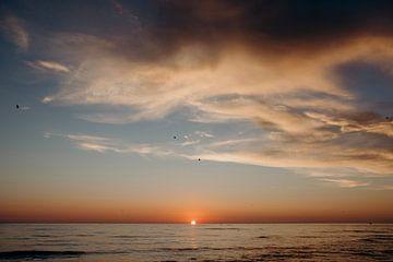 Scandinavische zonsondergang van Pascal Verheul