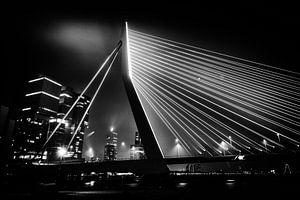 Rotterdam by night  van