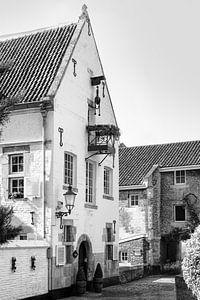 Molenaarswoning van de Leeuwenmolen in Maastricht, Nederland van