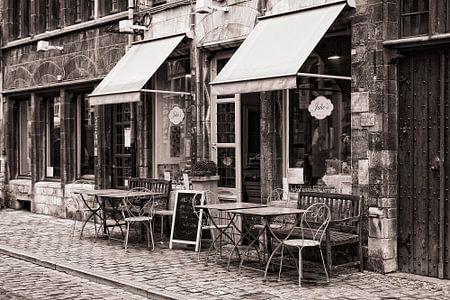 Bakkerij/restaurant in Gent von Bob Bleeker