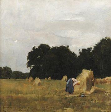 Emil Carlsen~Ber in einem Feld