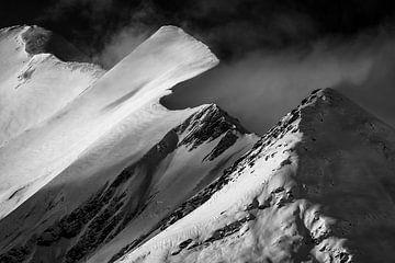 Blick auf die Hohen Tauern von Heiligenblut aus - Kärnten - Österreich