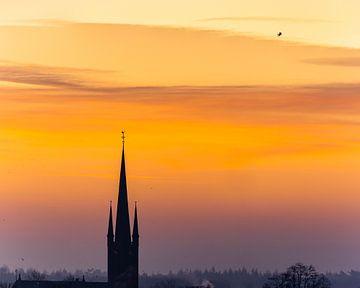 Lever de soleil Breda Princenhage sur Jean-Paul Wagemakers