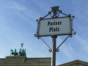 Pariser Platz, Quadriga on the Brandenburg Gate