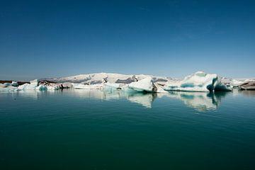 Jökulsárlón gletsjermeer IJsland sur Eddy 't Jong