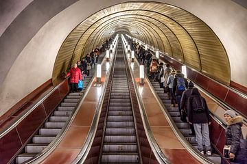 U-Bahn in Mosjou von Hilda booy